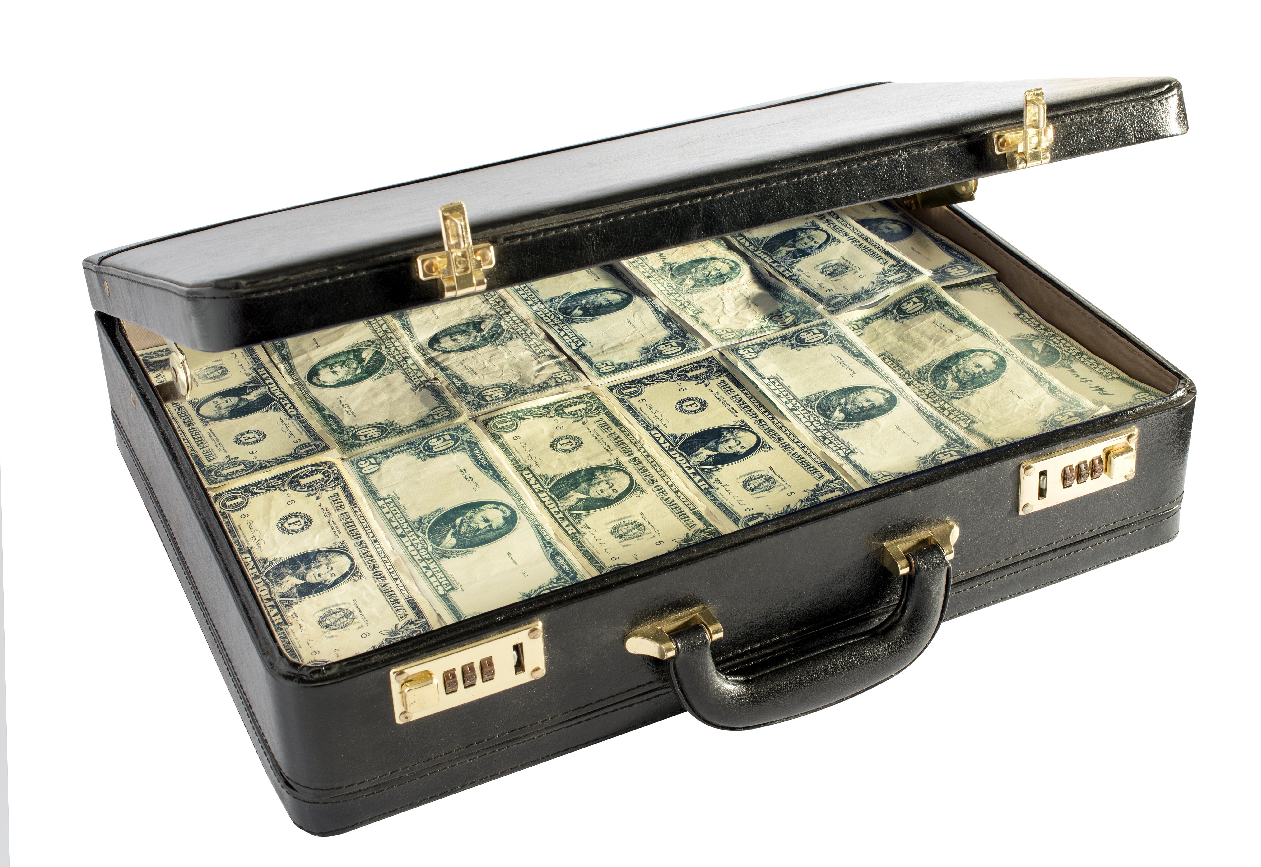 Old style money laundering. Image courtesy of DollarPhotoClub.com